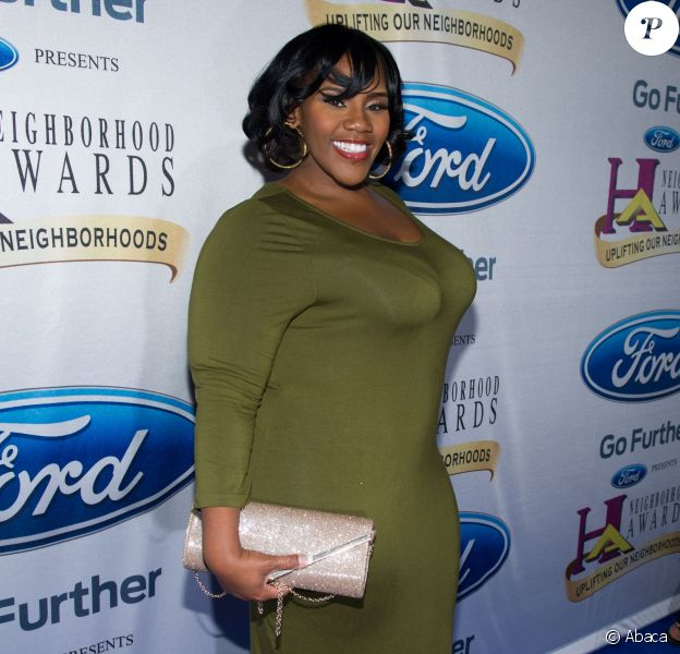 Kelly Price lors des Neighborhood Awards à Atlanta, le 8 août 2015