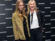 Kate Moss et Cara Delevingne : Foule, rires, mode, le duo débarque à Milan