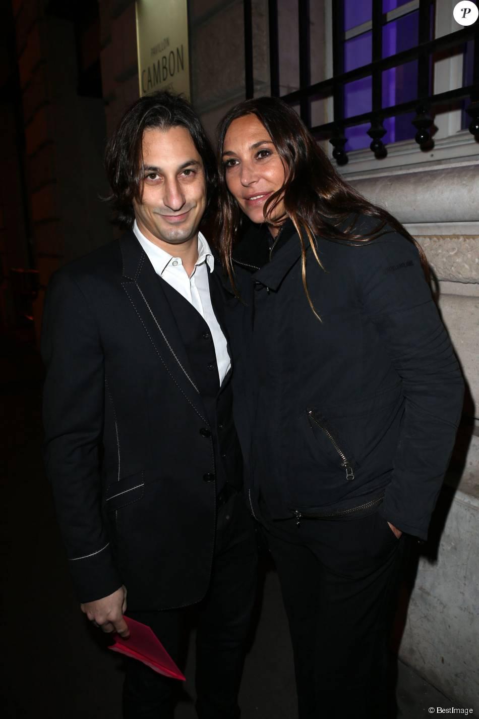 Zazie et son ex-compagnon Philippe Paradis - Soiree stand up for African Mothers à Paris le 19 novembre 2012.