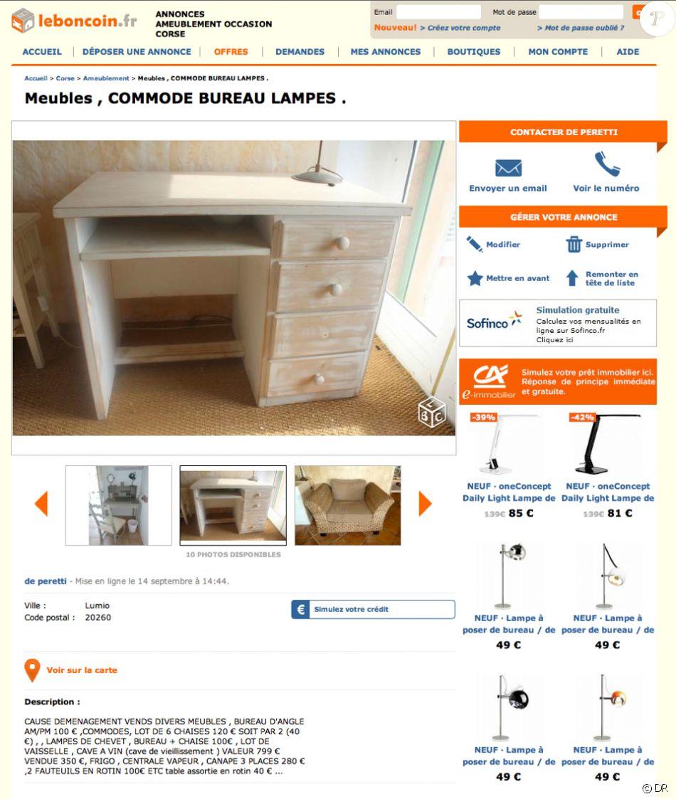 Guy Bedos Vend Les Meubles De Sa Maison Corse En Vente Sur Leboncoin Fr Septembre 2015 Purepeople