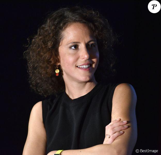 """Emma Luchini - Avant-première du film """"Un début prometteur"""" au cinéma Gaumont Opéra à Paris, le 24 septembre 2015."""