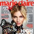 Sienna Miller en couverture du magazine Marie Claire. Numéro d'octobre 2015.