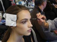 Beauté : Tom Pecheux inspiré, dans les coulisses du défilé Vaccarello