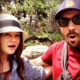 Emilie de Ravin et son amoureux Eric Bilitch attendent leur premier enfant / photo postée sur le compte Instagram de l'actrice.