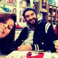 Faustine Bollaert, Cyril Lignac et Mercotte sur le tournage de la quatrième saison du  Meilleur Pâtissier  (M6). Mai 2015.
