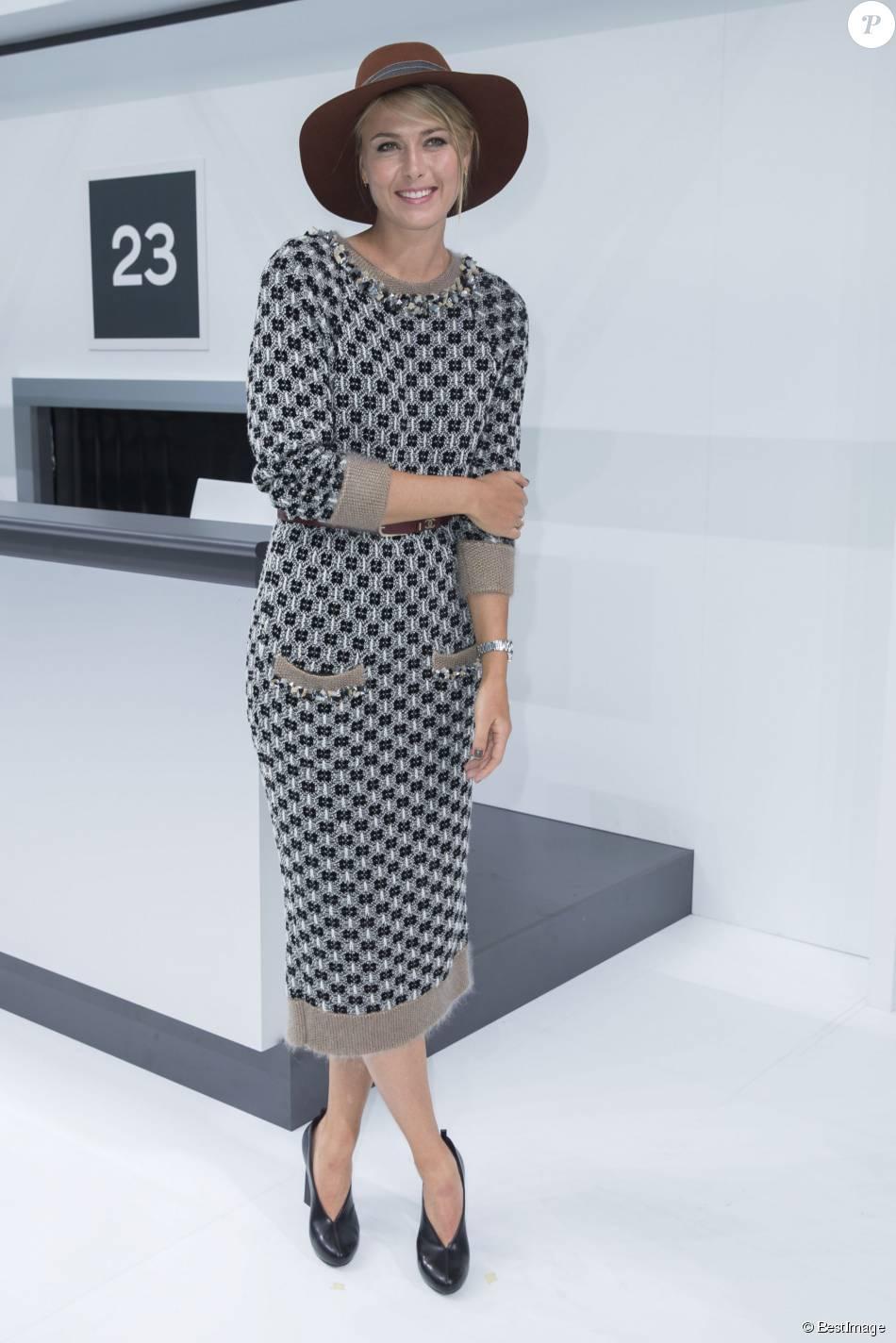 09b3d0e5dbc27 Maria Sharapova - Photocall au défilé de mode  quot Chanel quot