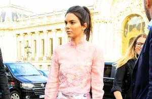 Fashion Week : Kendall Jenner, craquante pour une dernière sortie mode