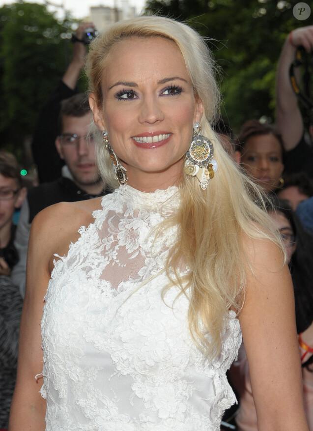 Elodie Gossuin - Arrivées au Dîner du Global Gift Gala au George V à Paris, le 25 mai 2015.