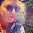 Amélie Neten en vacances à New York. Octobre 2015.