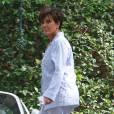 Kris Jennerarrive à la maison du couple Azoff pour assister à la baby-shower de Kim Kardashian. Beverly Hills, le 25 octobre 2015.