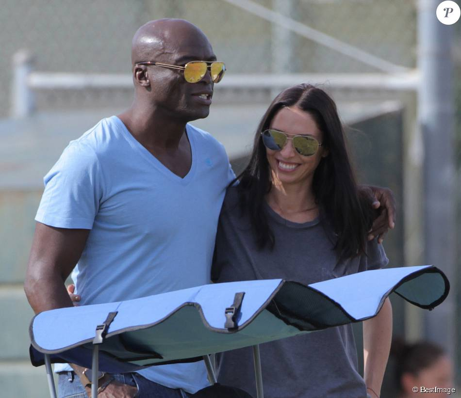 Former couple heidi klum and seal come together to watch their son