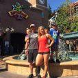 Noah Galloway, son ex-fiancée Jamie Boyd et ses trois enfants / photo postée sur Instagram.