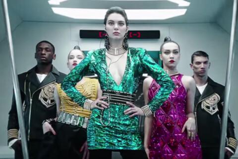 Kendall Jenner : Meneuse de revue urbaine pour Balmain et H&M