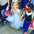 Haven la fille de Jessica Alba déguisée pour Halloween / photo postée sur Instagram.