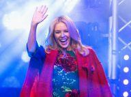 Kylie Minogue : La star, joli lutin de Noël, illumine le coeur de Londres