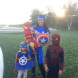 Kourtney Kardashian fête Halloween 2015 avec ses 3 enfants