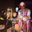 Fergie et Josh Duhamel avec leur petit Axl déguisés pour Halloween 2015