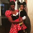 Kelly Rowland et son fils Titan fêtent Halloween 2015