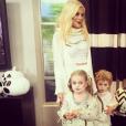 Tori Spelling avec ses enfants pour Halloween 2015