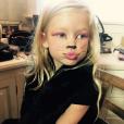 Maxwell, la fille de Jessica Simpson déguisée pour Halloween / photo postée sur Instagram.