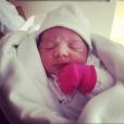 Alexia, la fille de Juanfran et Veronica Sierras - Photo publiée le 5 octobre 2015