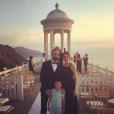 Juanfran, son épouse Veronica Sierras et leur fils Oliver - Photo publiée le 22 juin 2015