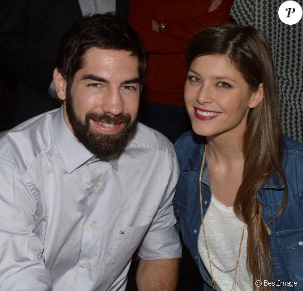 EXCLUSIF - Nikola Karabatic et sa compagne Géraldine Pillet à la Gioia le 27 janvier 2014
