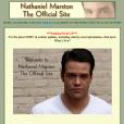 Capture d'écran du site officiel de Nathaniel Marston. L'acteur, âgé de 40 ans, a été victime d'un très grave accident de la route dans le Nevada dans la nuit du 30 octobre 2015.