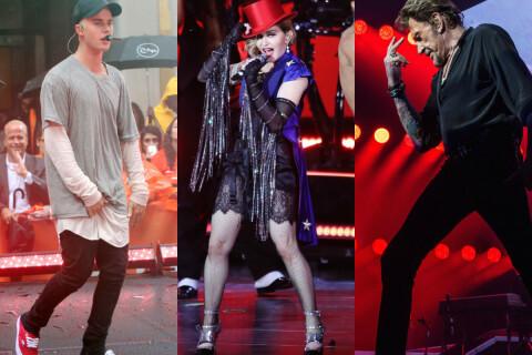 Johnny Hallyday, Madonna et Justin Bieber : Leurs larmes et prières pour Paris