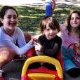 Soleil Moon Frye a rajouté une photo de ses trois enfants sur les réseaux sociaux / photo postée sur Instagram.