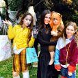 Soleil Moon Frye et ses trois enfants / photo postée sur Instagram.