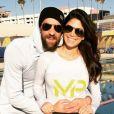 Michael Phelps et sa fiancée, Nicole Johnson - Photo publiée le 18 novembre 2015