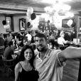 Michael Phelps et sa fiancée Nicole Johnson - Photo publiée le 1er juillet 2015