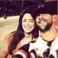 Michael Phelps et sa fiancée Nicole Johnson - Photo publiée le 12 juillet 2015
