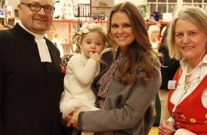 Madeleine de Suède : Visite au marché de Noël avec sa petite Leonore