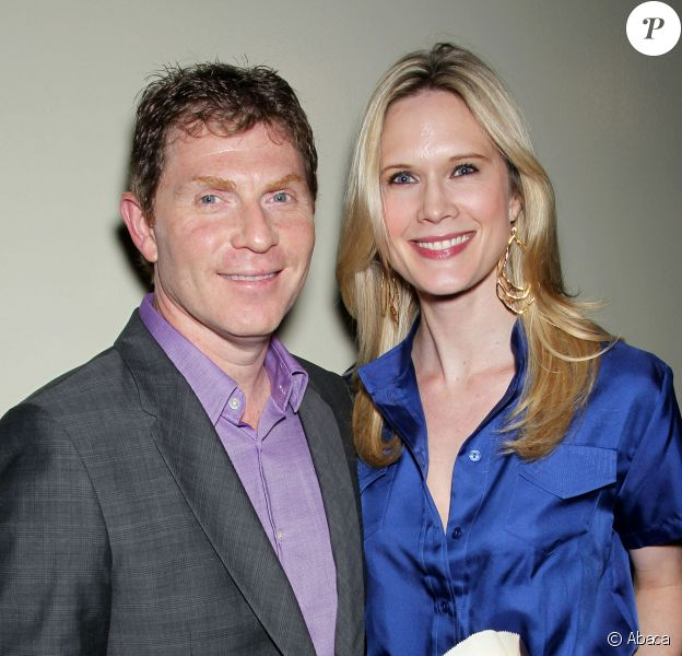 Bobby Flay, Stephanie March à la première de  'The Hangover Part II' à New York, le 23 mai 2011