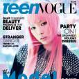 Le mannequin Fernanda Ly en couverture du numéro de décembre-janvier de Teen Vogue. Photo par Daniel Jackson.