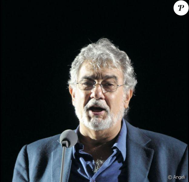 Placido Domingo en concert à Chichen Itza