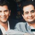 Pascal Bataille et Laurent Foutaine, dans les années 80.