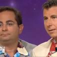 Pascal Bataille et Laurent Foutaine, sur TF1 dans les années 90.