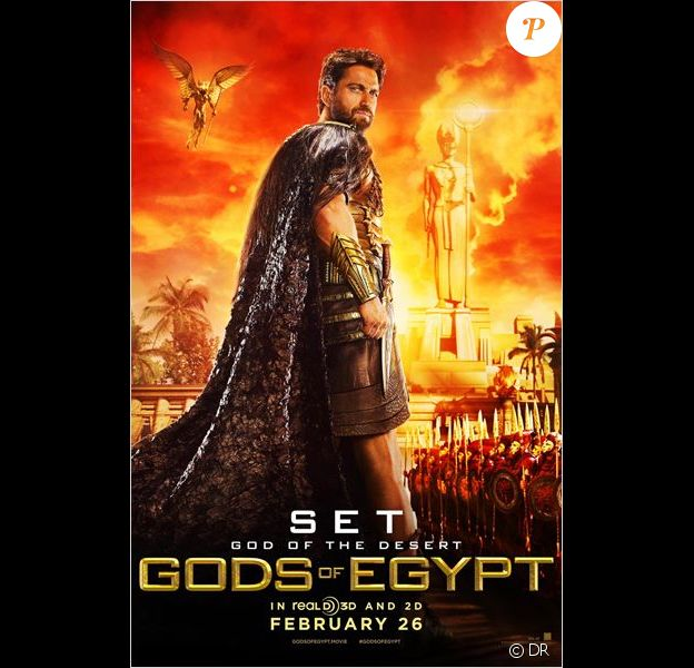 Affiche du film Gods of Egypt avec Gerard Butler