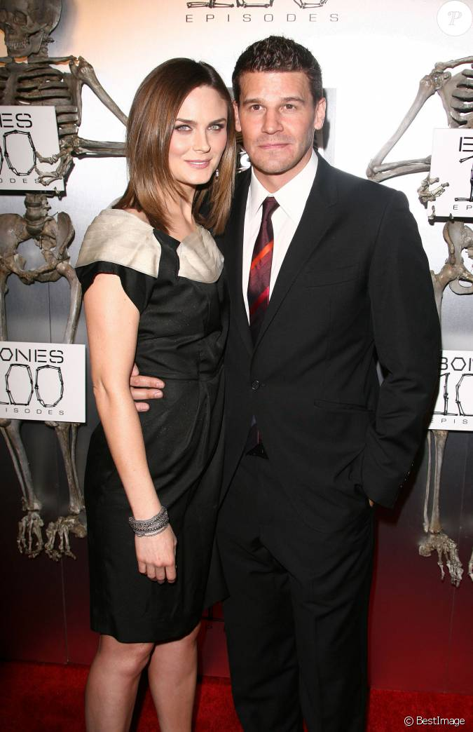 David Boreanaz And Emily Deschanel 2014 Emily Deschanel et Dav...