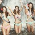 Julia Courtès, Miss Provence : la favorite de la Toile pour l'élection Miss France 2016 s'éclate à Tahiti avec Miss Tahiti et Miss Nord-pas-de-Calais