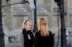 REPORTAGE PHOTOS : Lorie et David Ginola en plein tournage des Feux de l'amour !