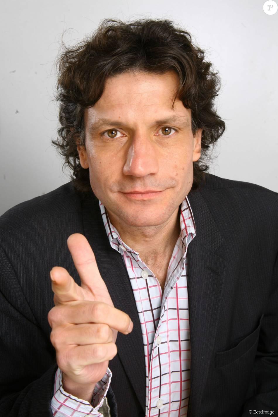 Laurent Violet à Paris en 2008.