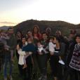 """""""La famille Kardashian-Jenner-West-Disick au grand complet pour Thanksgiving. Novembre 2015."""""""