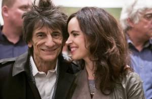 Ron Wood, bientôt encore papa : Le rockeur de 68 ans va avoir des jumeaux
