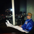 Justin Bieber assure la promotion de son nouvel album au Japon / photo postée sur Instagram, le 4 décembre 2015.