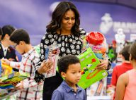 Michelle Obama : Sublime mère Noël et étonnante rappeuse !