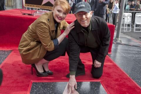 Ron Howard : Fier aux côtés de sa fille Bryce Dallas pour entrer dans l'histoire